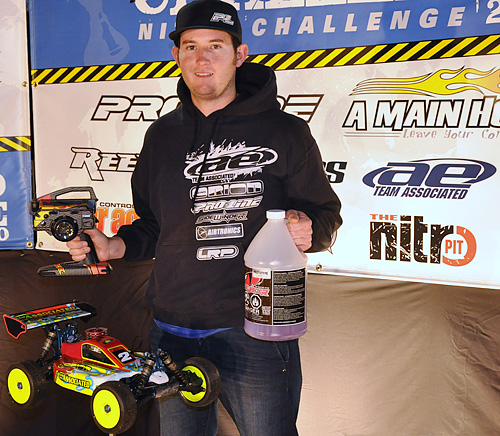 Cavalieri Wins 3rd Consecutive Nitro Challenge Victory For RC8B; SC10 Dominates Pro2