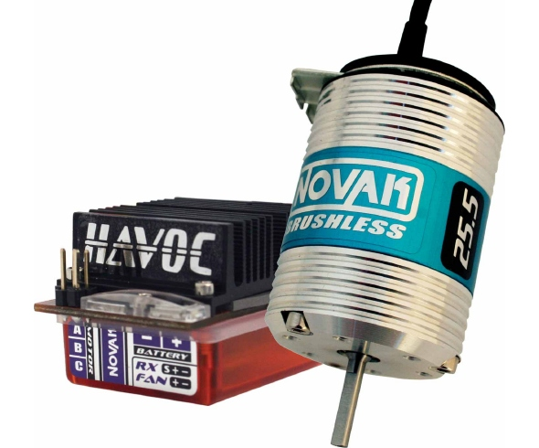 Novak Havoc 2S / SS Pro 25.5T Trans-Am Specific Brushless System