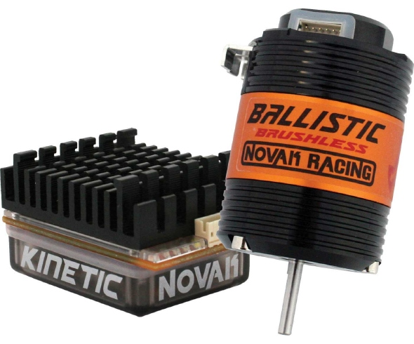 Novak's Kinetic Racing Brushless ESC Claims its First Win