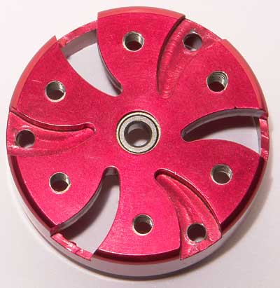 Corally Front and Back Aluminium Plates for Red Series Sensorless Motors