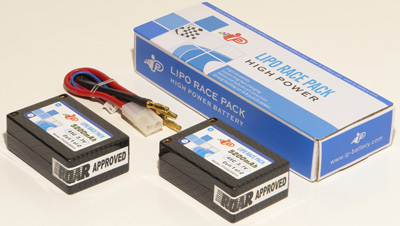 Team Corally LiPo and LiFe Hard Case Roar Legal Battery Packs