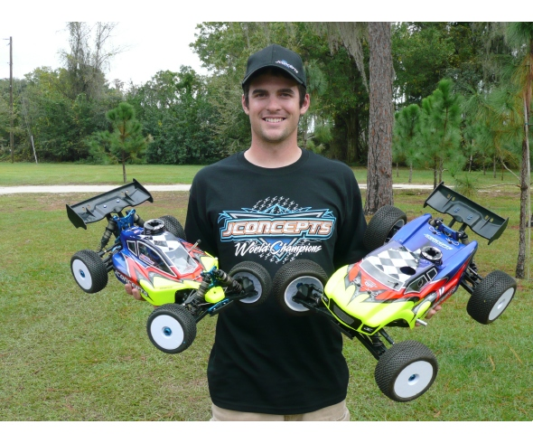 Brett Kingsbury TQ's and Wins Nitro 1/8 Scale Money Race with JConcepts