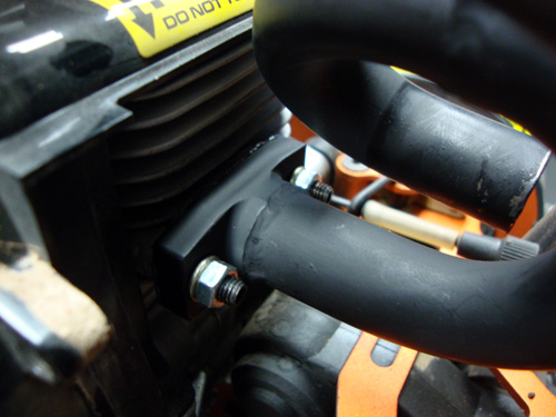 Pipe Header Clamp Baja Tuned pipe