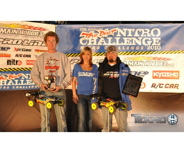 Travis Amezcua, Mugen, & Tekno RC win Pro 1/8 Electric Buggy class @ Nitro Challenge