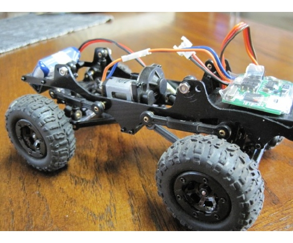 TCS Crawlers U-Trail (Micro Trail) for the Losi Micro Rock Crawler