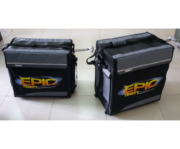 Epic T10 and T8 bags updated with Team Epic Logo