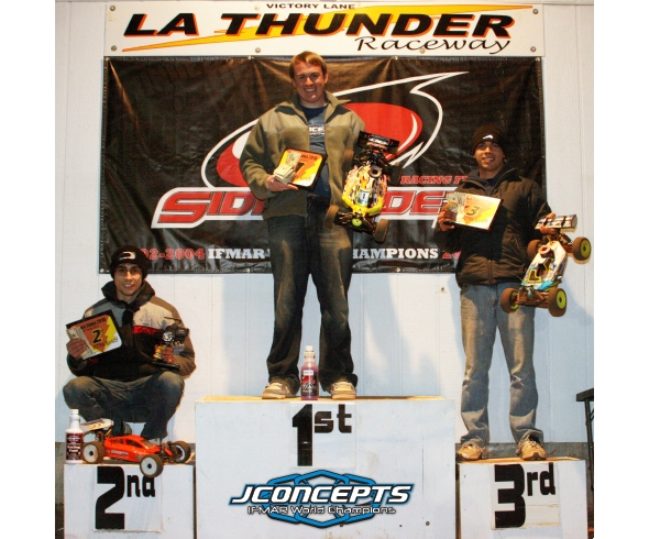JConcepts and Aaron Craker TQ and Win Buggy & Truggy at Bama Jama