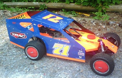 RCRC EDM oval body for the HPI Baja 5B