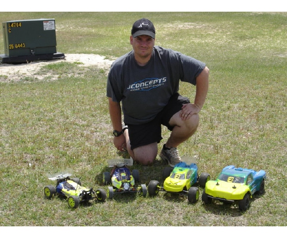 Kory Ferguson – Four Podium Finishes Running JConcepts