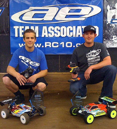 Hartson Cleans Up at Associated 1/8 Electric Championship