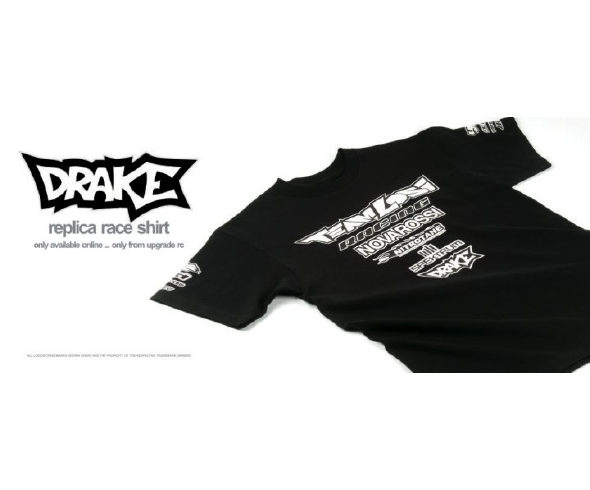 Upgrade RC Gear: Replica Race Shirt, Ottlite Slim, BullDog Buggy Skin, Free Bag