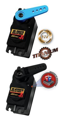 Hitec HS-7980TH and HS-M7990TH Mega Torque servos