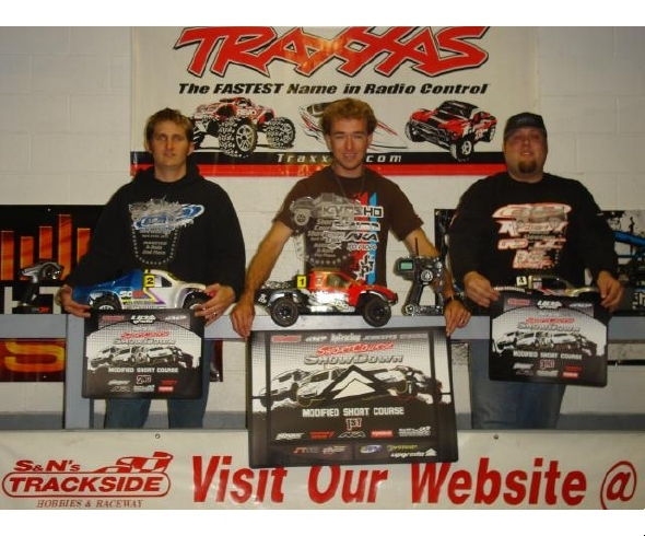 Jared Tebo and Kyosho Dominate 1st Annual Trackside Short Course Showdown