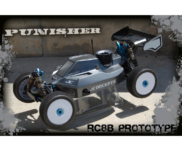JConcepts Punisher Prototype Body for the RC8B