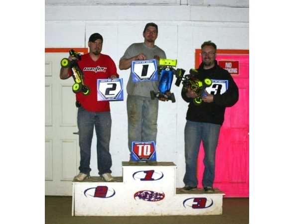Caster Racing USA and Ron Henshaw podium at East vs West Shootout at AMS Raceway