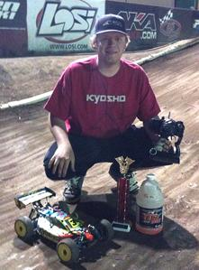 Cody King takes JBRL round #3 in 1/8 buggy