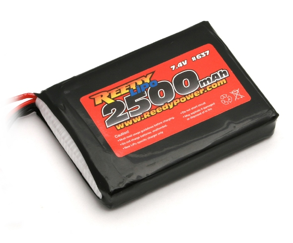 Reedy M11X 2500mAh 7.4V LiPo TX Battery
