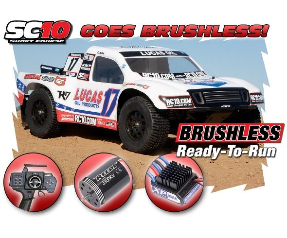 Team Associated SC10 Brushless RTR