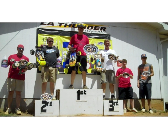 Burton Takes Truggy Win in R/C Pro Series Mid South Round #1