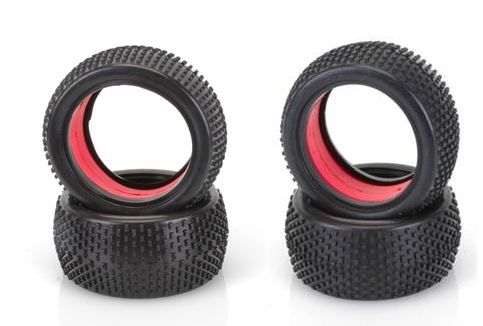 Core-RC Multi Bow Tires and Red Molded Inserts