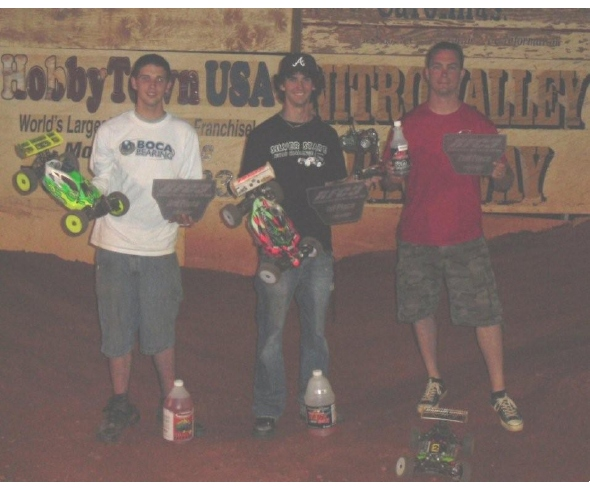 Barry Pettit has another winning weekend with JConcepts