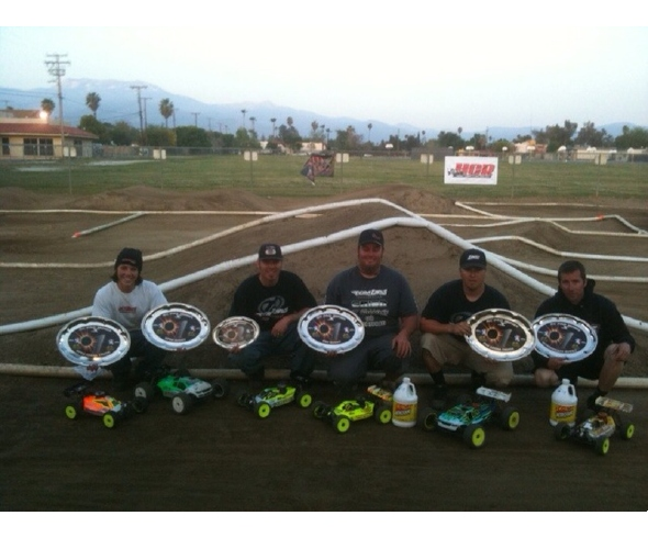 TLR Wins All Nitro Classes at R/C Pro Series West Round #1