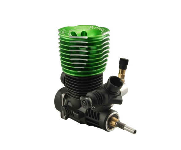 Axial .28 Spec 2s Engine and Replacement Steel Outdrives for the Axial Transmission