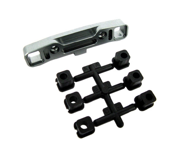 Mugen Aluminum Rear Lower Arm Mount for the MBX-6/6T