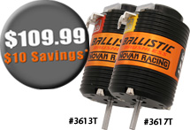 Novak New Ballistic Motors and Free Shipping Promotion Available
