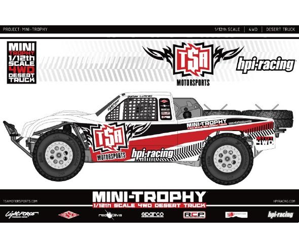 HPI Mini Trophy 1/12 4WD Desert Truck