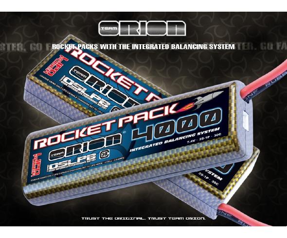 Team Orion IBS LiPo Rocket Packs