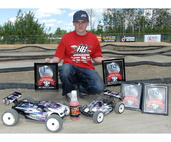 Tessmann TQ's and Wins Round 1 of the Alberta RC Pro Series