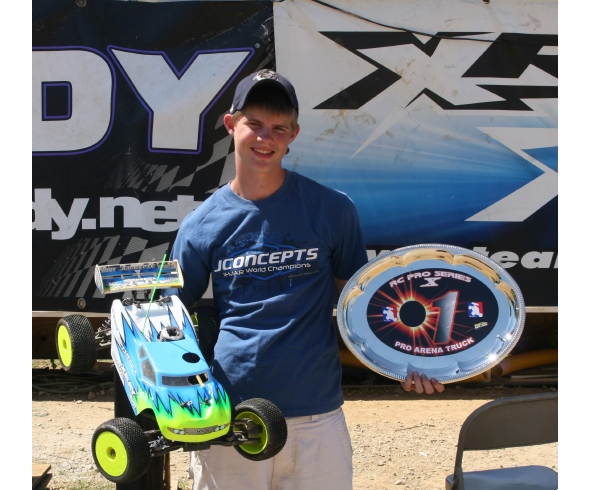 CJ Weaver wins Pro Truggy class at Round 2 of the Great Lakes Region Pro Series