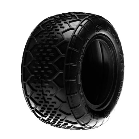 Losi BK Bar Tires available in Red and Pink Compounds for 2.2″ Truck and Front 4WD