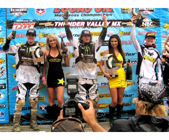 Pourcel Perfect With Moto 1 & 2 Wins; Traxxas-sponsored riders 1-2-3 In Series Points