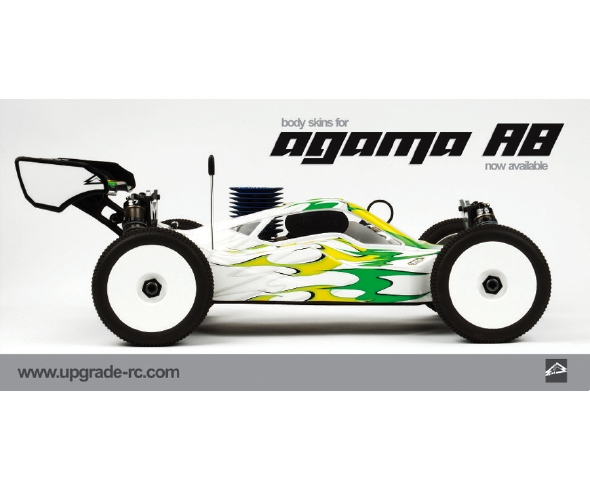 Upgrade RC Gear:Agama & Alias skins, Chassis protectors, Sport bags, Radio Case skins
