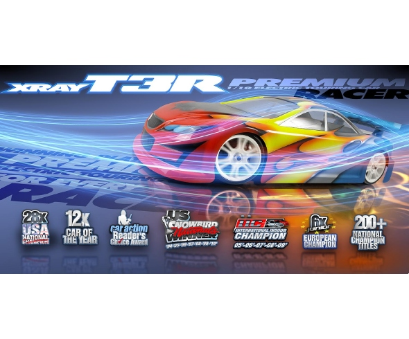XRAY T3R 1/10 Luxury Touring Car