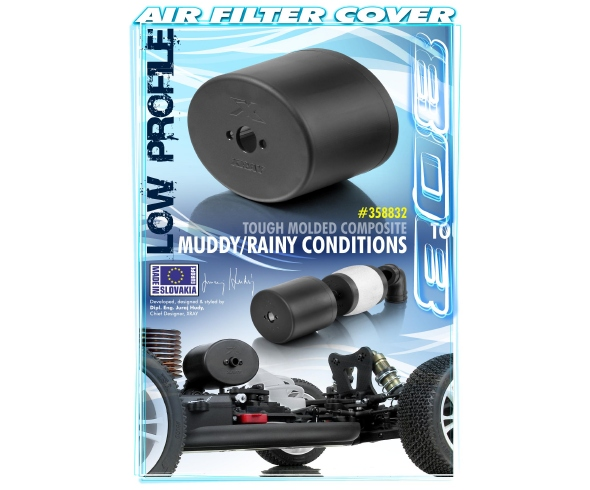 XRAY Composite Air Filter Cover