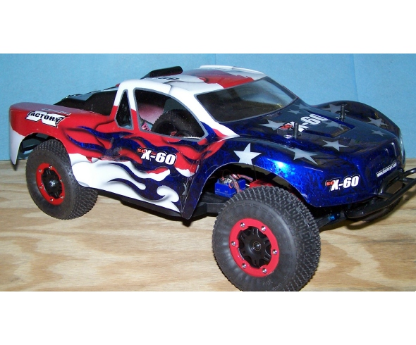 X Factory SCX – 60 Conversion Kits for T4 or SC10