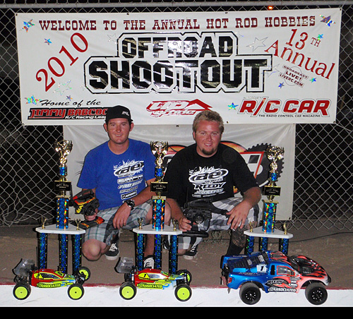 Cavalieri Takes 2WD & 4WD;Maifield dominant in Expert Short Course @ Offroad Shootout