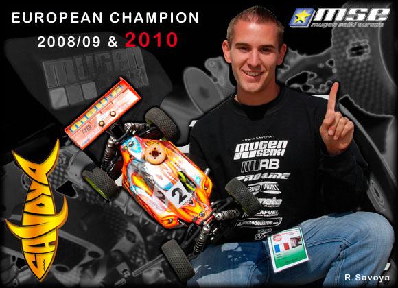 Renaud Savoya wins 3rd consecutive EFRA 1/8 Off Road European Championship