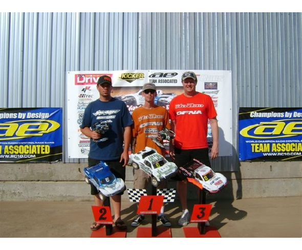 Losi wins 4WD Nitro and Electric Short Course classes at 2010 Short Course Nationals