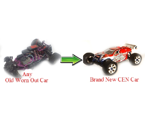 CEN Racing R/C Car Exchange Program
