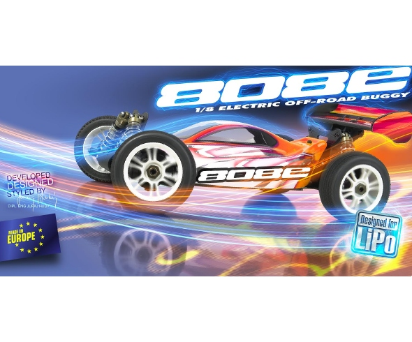 XRAY XB808E 1/8 Electric Off-Road Buggy