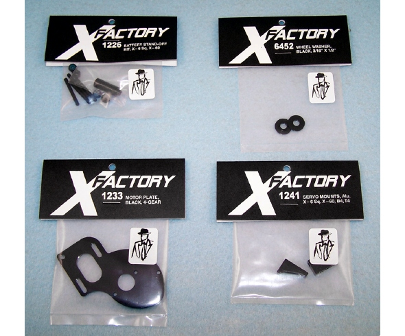 "X Factory ""Real Men Wear Black"" Upgrade Parts"