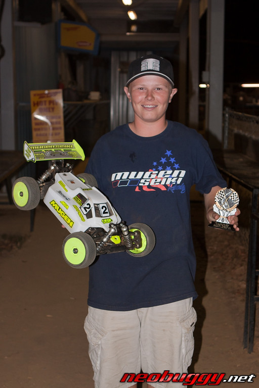 Tekno RC wins in the 1/8 Electric Buggy class at Round 5 of the JBRL