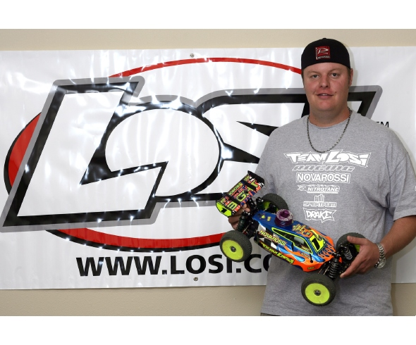 Losi wins at Monster Energy Nitro Series Round 4