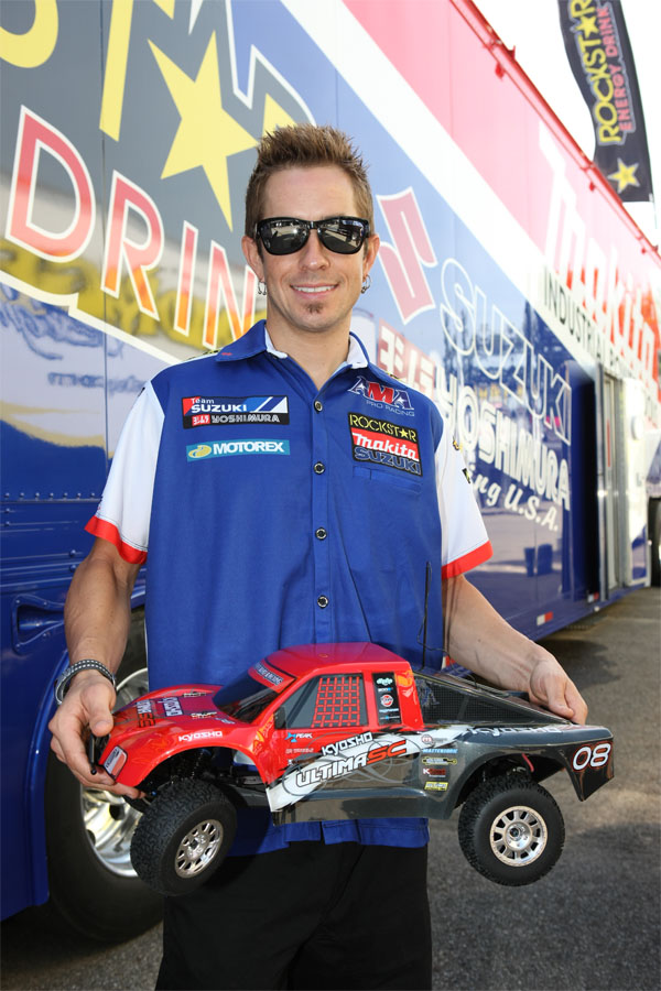 Superbike Driver Tommy Hayden Teams up with Kyosho