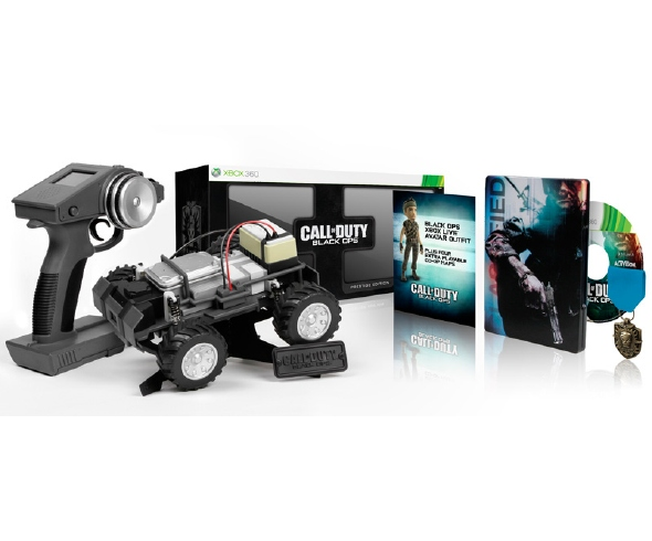 Call of Duty: Black Ops Prestige Edition includes real RC Car
