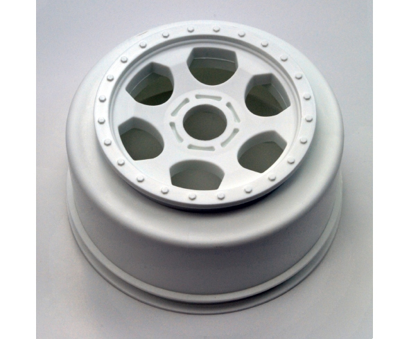 DE Racing Trinidad SC Wheel now in white, Hub Nutz for JConcepts & Pro-Line SC Wheels